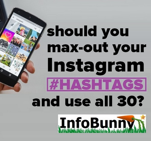 How to use hashtags on Instagram - Pinterest image