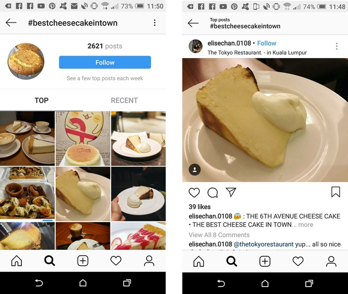 Instagram Restaurant Marketing