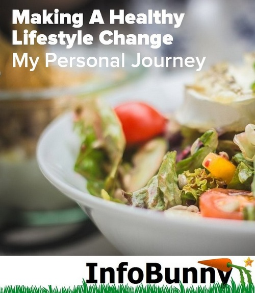 Making A Healthy Lifestyle Change -  My Personal Journey