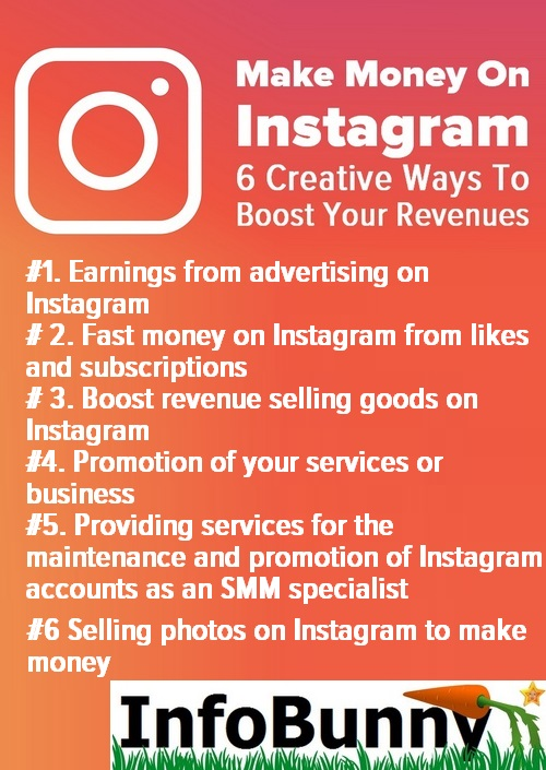 Make Money On Instagram – 6 Creative Ways To Boost Your Revenue