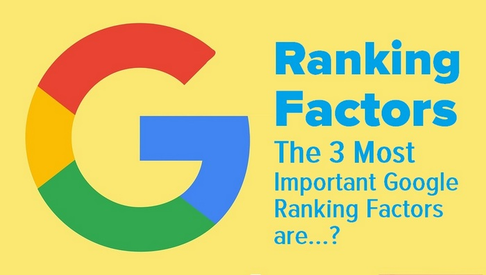 Google Search Engine Ranking Factors- Know these 3 and Stick Your Pole on the Hilltop that is Google's Page One