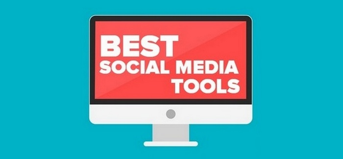 Best Social Media Tools - Header intro image graphic