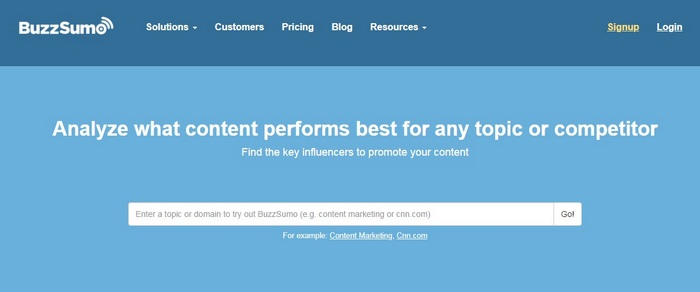 BuzzSumo Getting started with Influencer Marketing Software