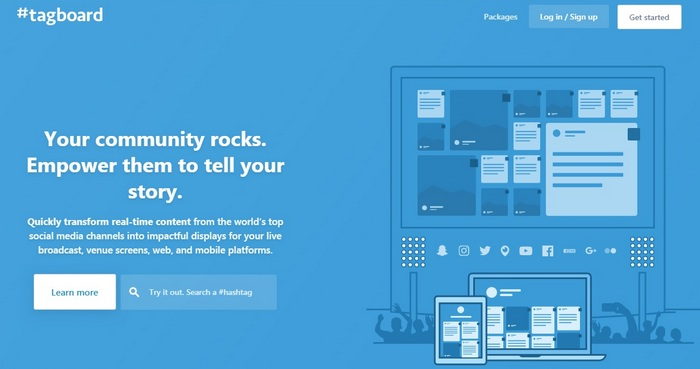 Best Social Media Tools Article TagBoard Homepage