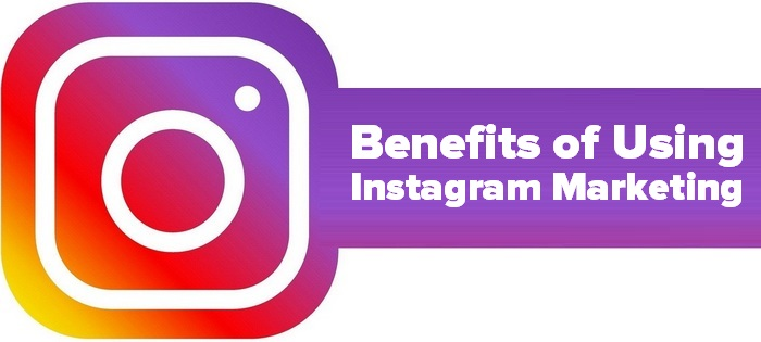 Benefits of using instagram marketing - Instagram logo and caption