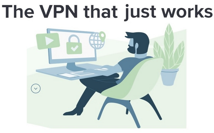 ExpressVPN - screen capture