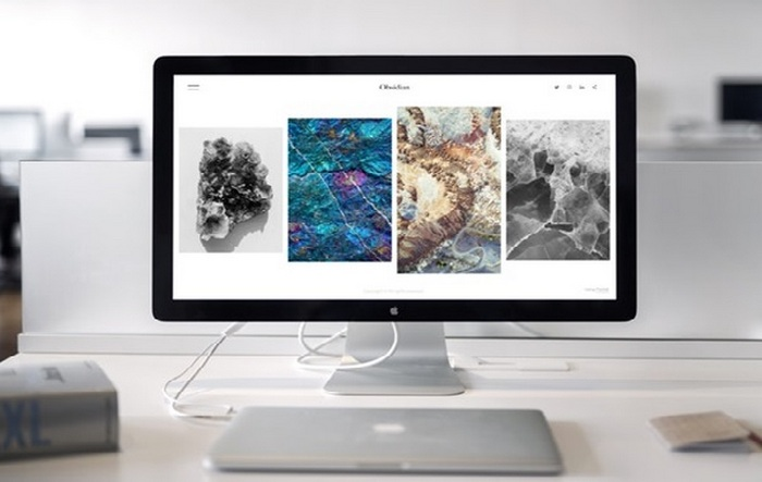 Computer screen image  - Brand Your WordPress Website - Select a Theme