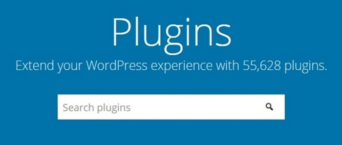 Screen capture for the WordPress Plugins page