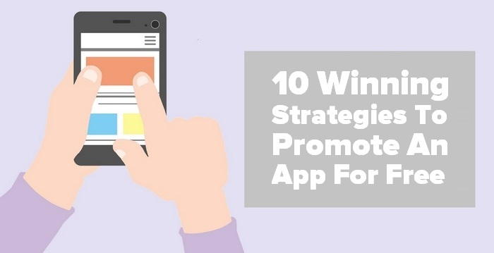 Header image - 10 Winning Strategies to Promote an App for Free