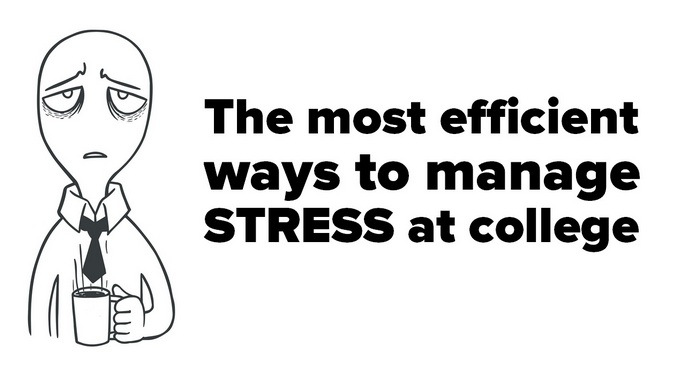 Cartoon character image for - The Most Efficient Ways to Manage Stress at College