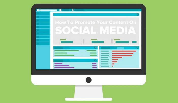 header graphic for -  how to Promote Your Content on Social Media