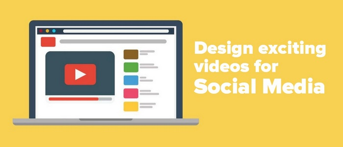 header image for Design exciting videos for Social Media