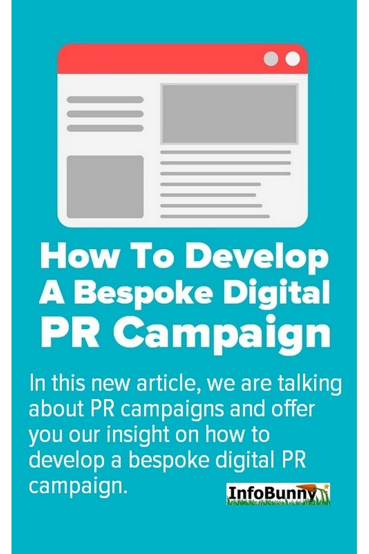 Pinterest share image for - How to Develop a Bespoke Digital PR Campaign