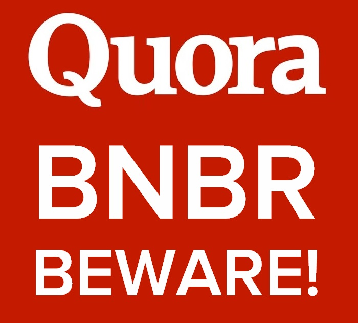 account that paid the price.  Quora BNBR - How much do you have to lose?