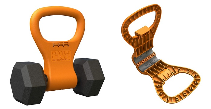 Product image for - Kettle Gryp - Kettlebell Adjustable Portable Weight Grip