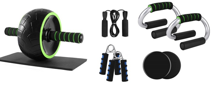Product image for ab-wheels - Best Home Gym Equipment For Women In 2021