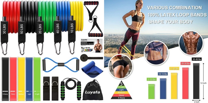 Best Home Gym Equipment For Kids To Keep Them Active - Bands product image