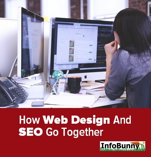 Pinterest share image for - How Web Design and SEO Go Together