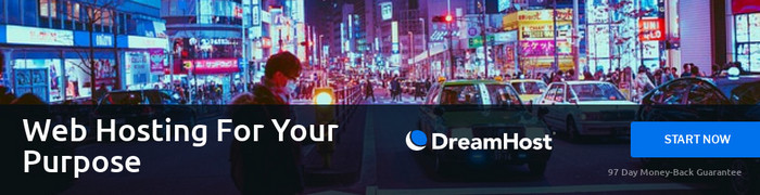 DreamHost Sign Up Banner
