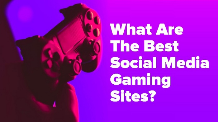 Header image showing a playstation controller for the article - What Are The Best Social Media Gaming Sites?