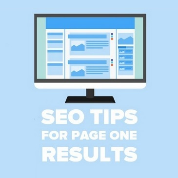 SEO Tips for page one results