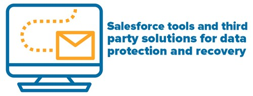 Header -  Salesforce tools and third party solutions for data protection and recovery